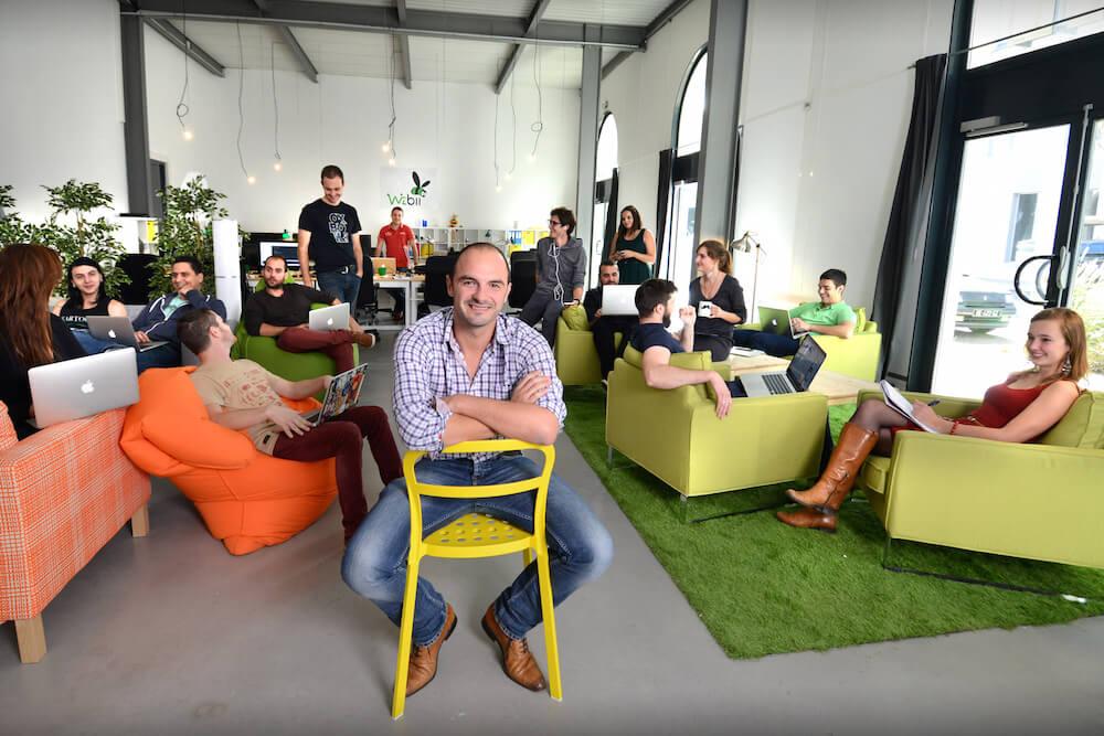 startup wizbii