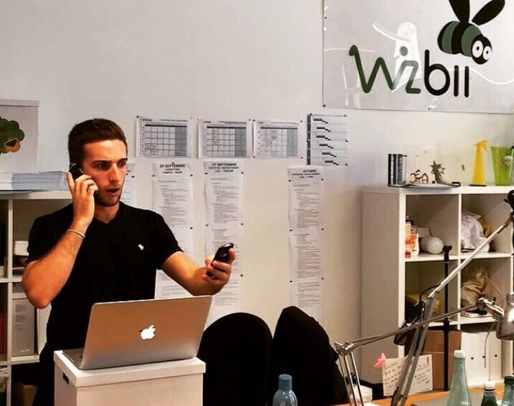 Julien, business developer chez Wizbii