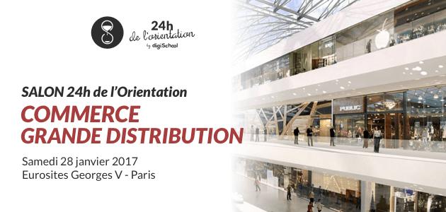 24h de l'orientation, salon, orientation, business school, digischool, paris, master-class, carrière, commerce, grande distribution