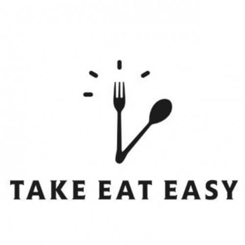 logo take eat easy