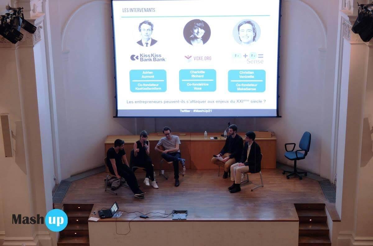 Mash Up 21, entrepreneurs, enjeux, 21ème siècle, débat, entrepreneuriat