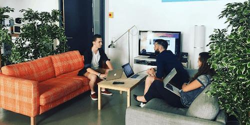 équipe design team wizbii