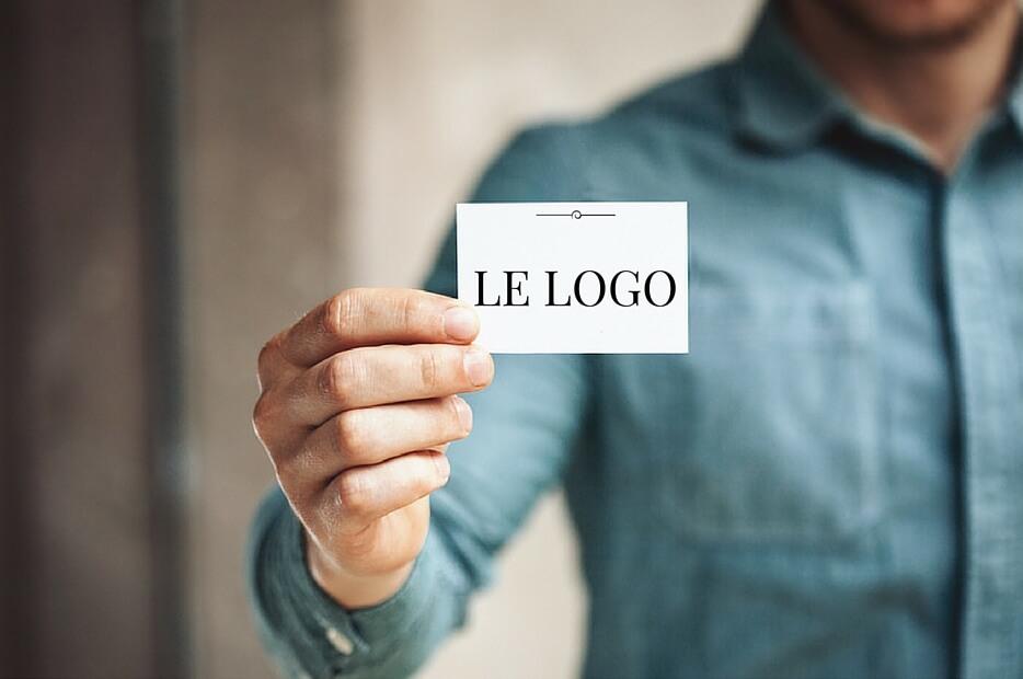 le logo carte de visite emploi entrepreneuriat