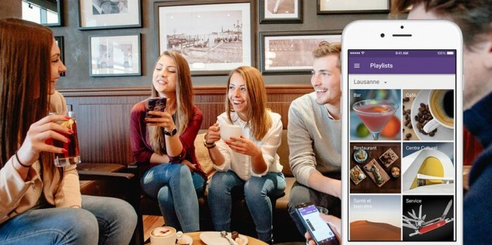 Wicard, cartes de visite smartphone