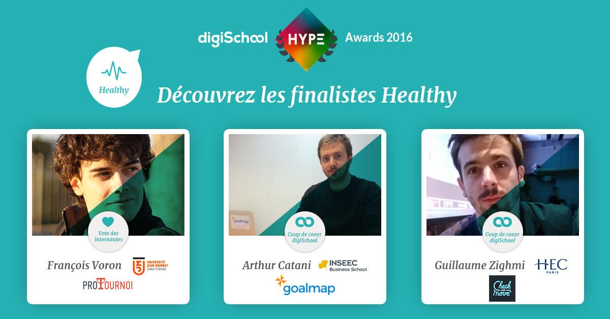 DigiSchool HYPE Awards, concours, jeunes, entrepreneuriat, projets