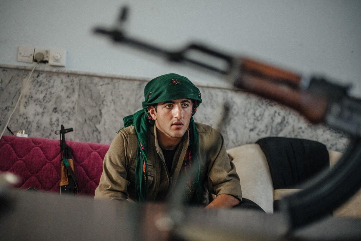 photoreporter étudiant terrorisme combat Irak