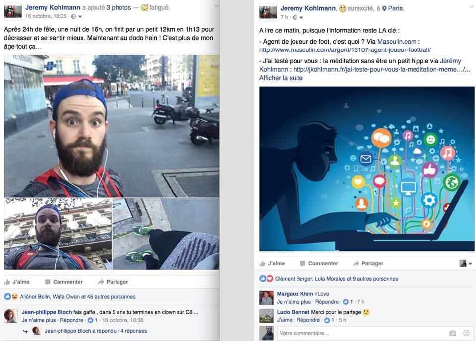 jeremy startup conseils reseaux sociaux