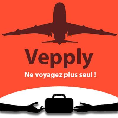 Vepply, application, voyager, start-up, entrepreneuriat