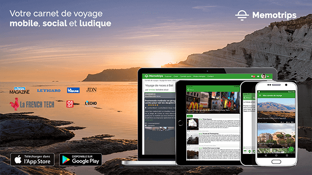 Memotrips, la start-up qui digitalise le voyage