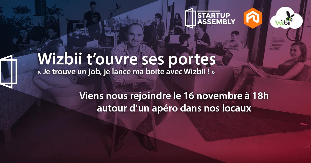 startup assembly, événement, portes ouvertes, start-up, entrepreneuriat, emploi, découverte