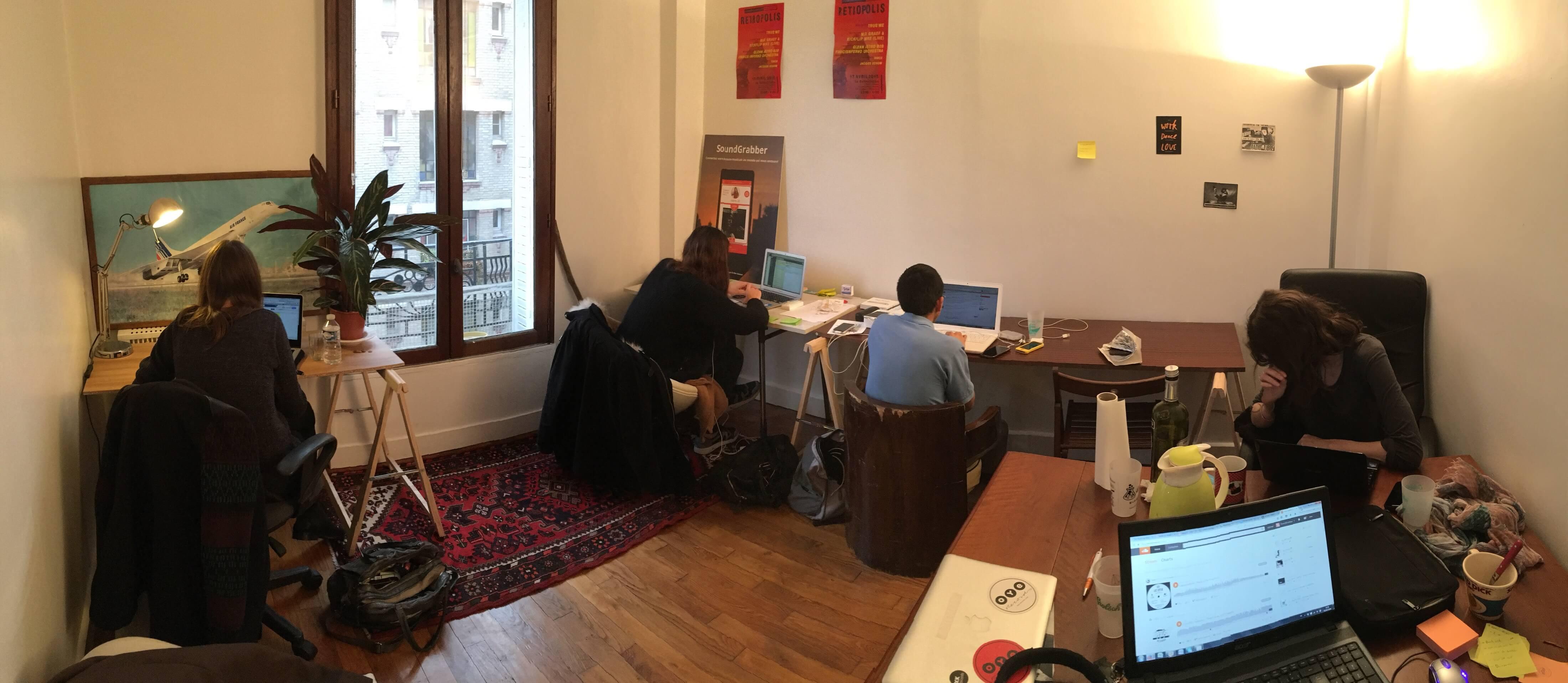 SoundGrabber, musique, rencontre, start-up, entrepreneuriat