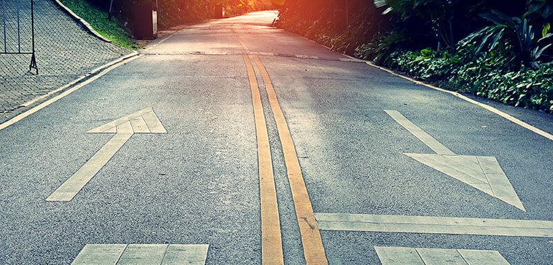 un entretien est une route à plusieurs voies