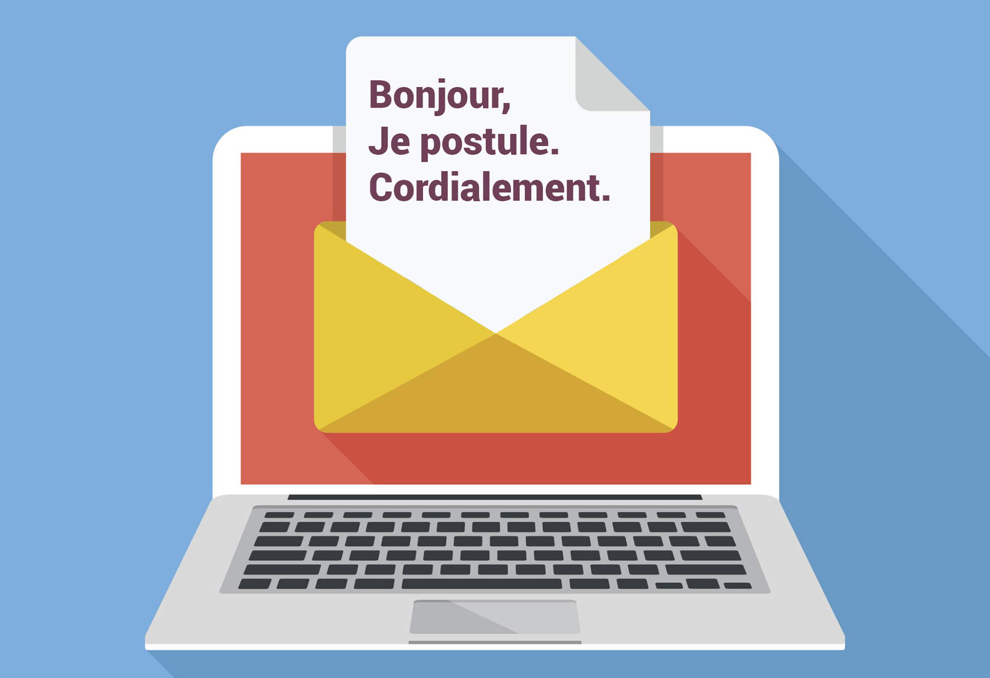 lettre de motivation, pitch mail, postuler, candidature, mail