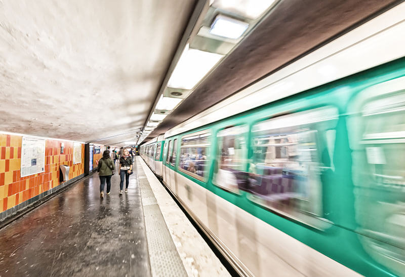 transports en commun métro télétravail emploi