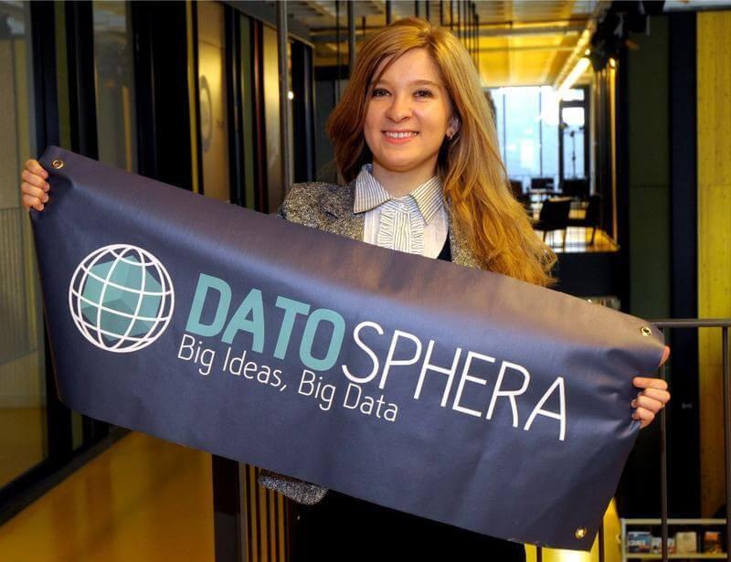 Madalina Burghelea, CEO, DatoSphera, fundadora, joven, talento, española, creadora, startup