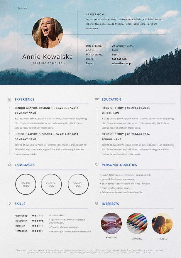 minimalist, creative cv, cv, cv templates, free cv template, infographic cv, resume, graphic designer