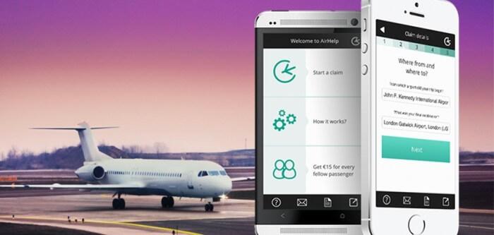 airhelp application remboursement vol annulation startup