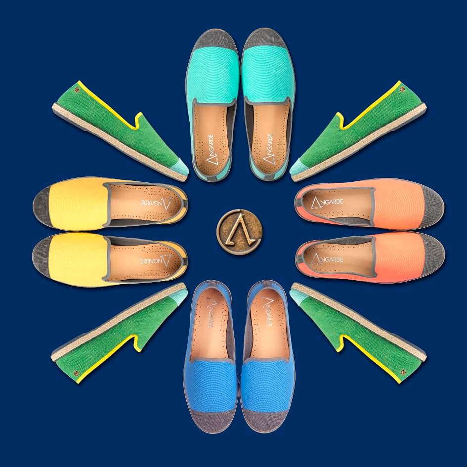 angarde espadrilles slippers