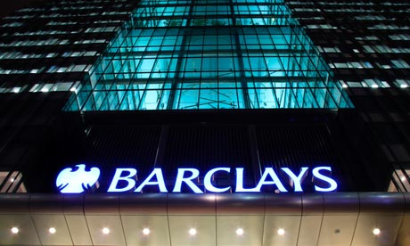 Barclays bank headquarters, Canary Wharf, London, intern