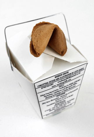Lotti Haxell, fortune cookie, chinese, cv, resume, curriculum vitae, food cv, food resume, original cv, 2015, UK