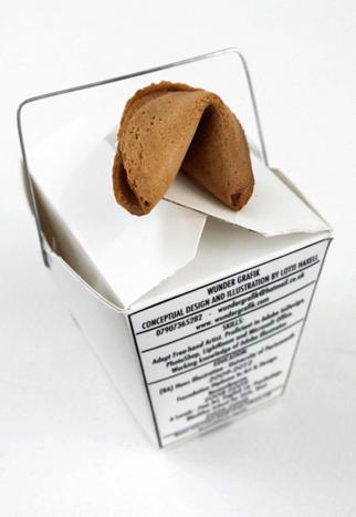 Lotti Haxell, fortune cookie, chinese, cv, resume, curriculum vitae, food cv, food resume, original cv, 2015, UK