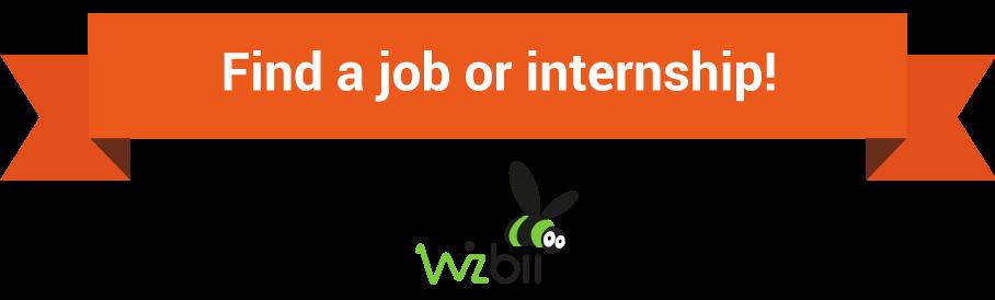 find job or internship wizbii