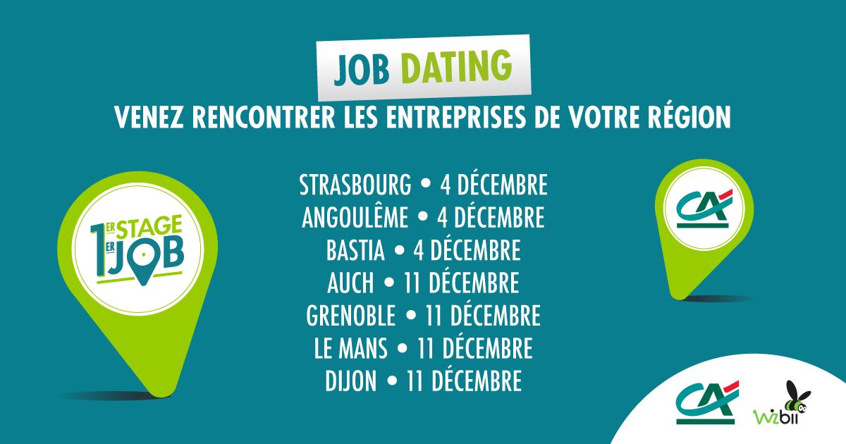 Job dating grenoble