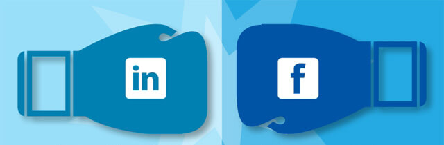 Facebook contre LinkedIn