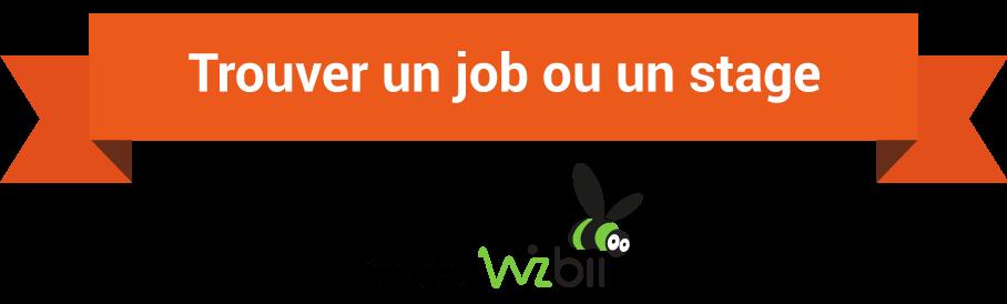 trouver job stage wizbii