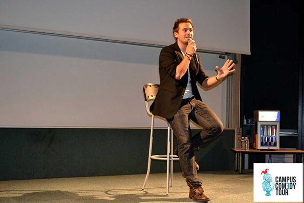 Nino Arial, comédien humoriste, talent, jeune, étudiant, passion