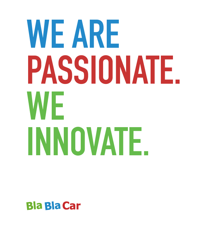 We are passionate.We innovate