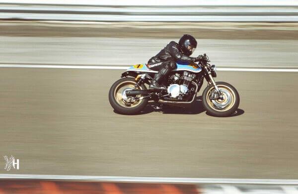 Sylvain Berneron, pilotage moto sur circuit