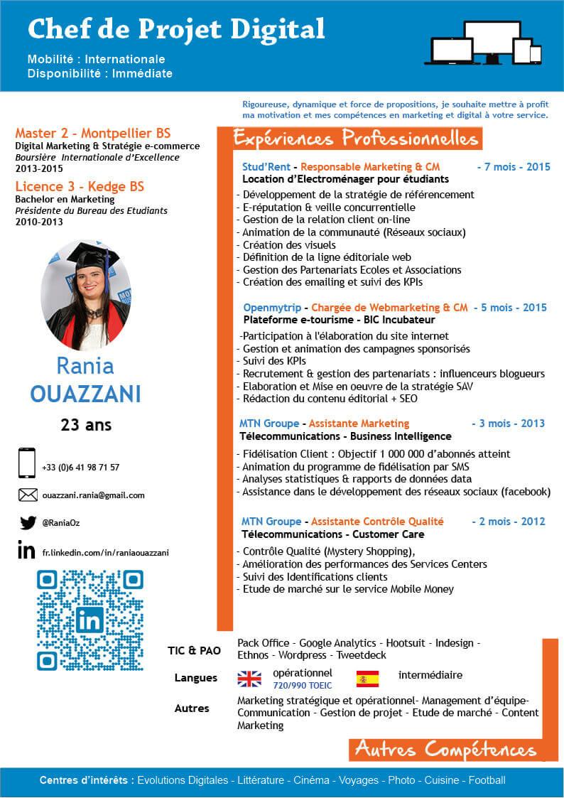 CV Rania OUAZZANI_Chef de projet digital
