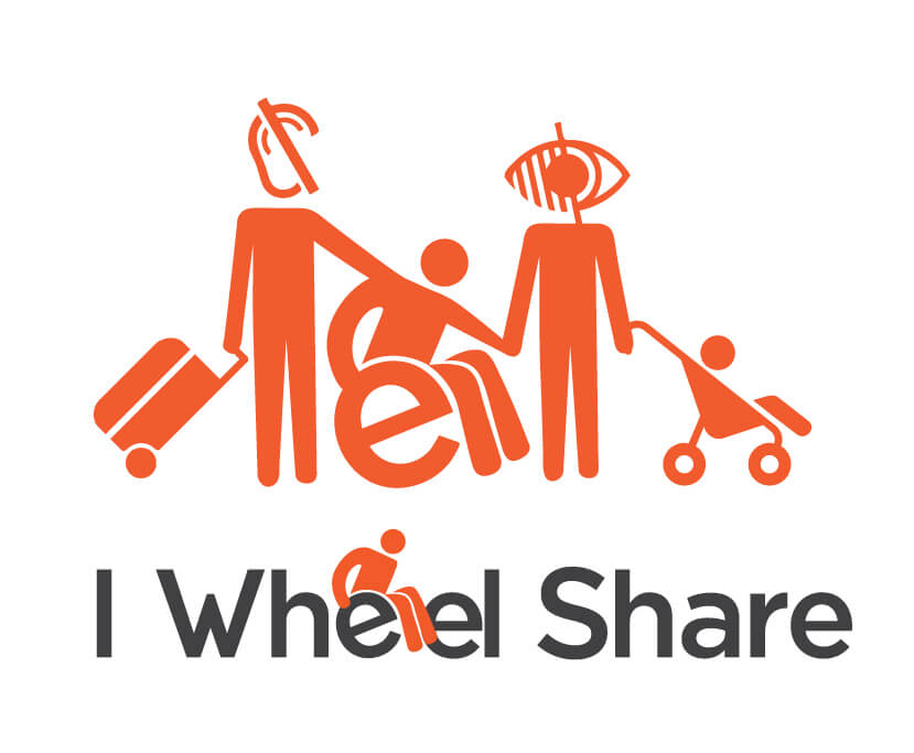 i wheel share logo