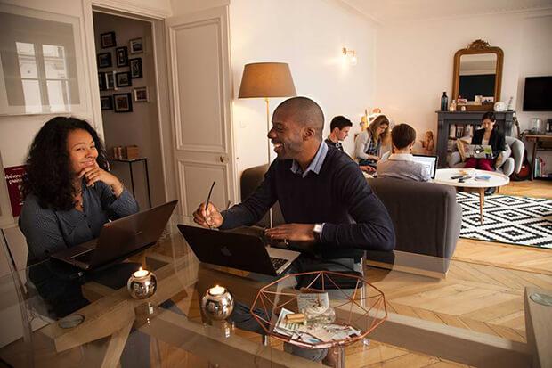 cohome, coworking, startup, bonjour idées