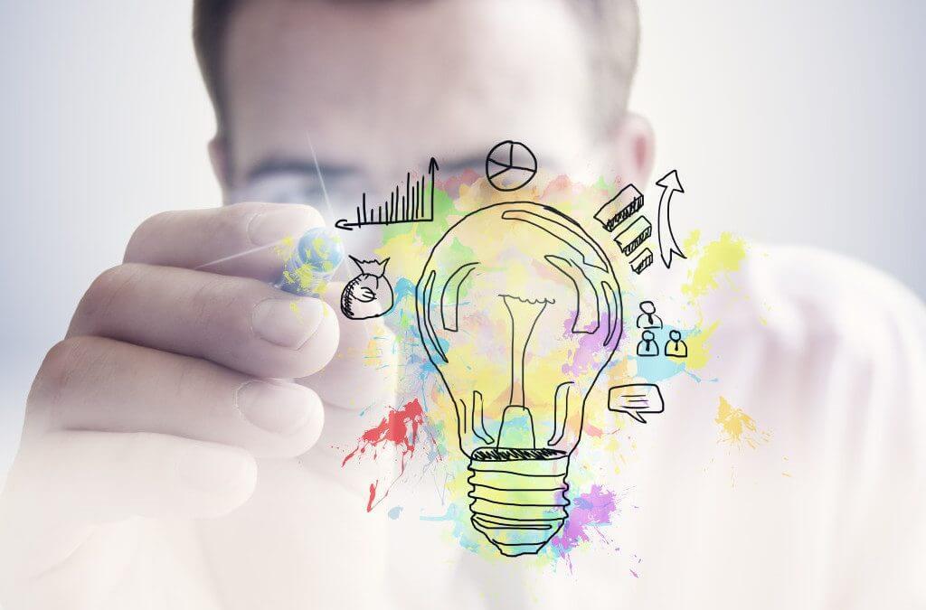 idée start-up entrepreneuriat lancement concept