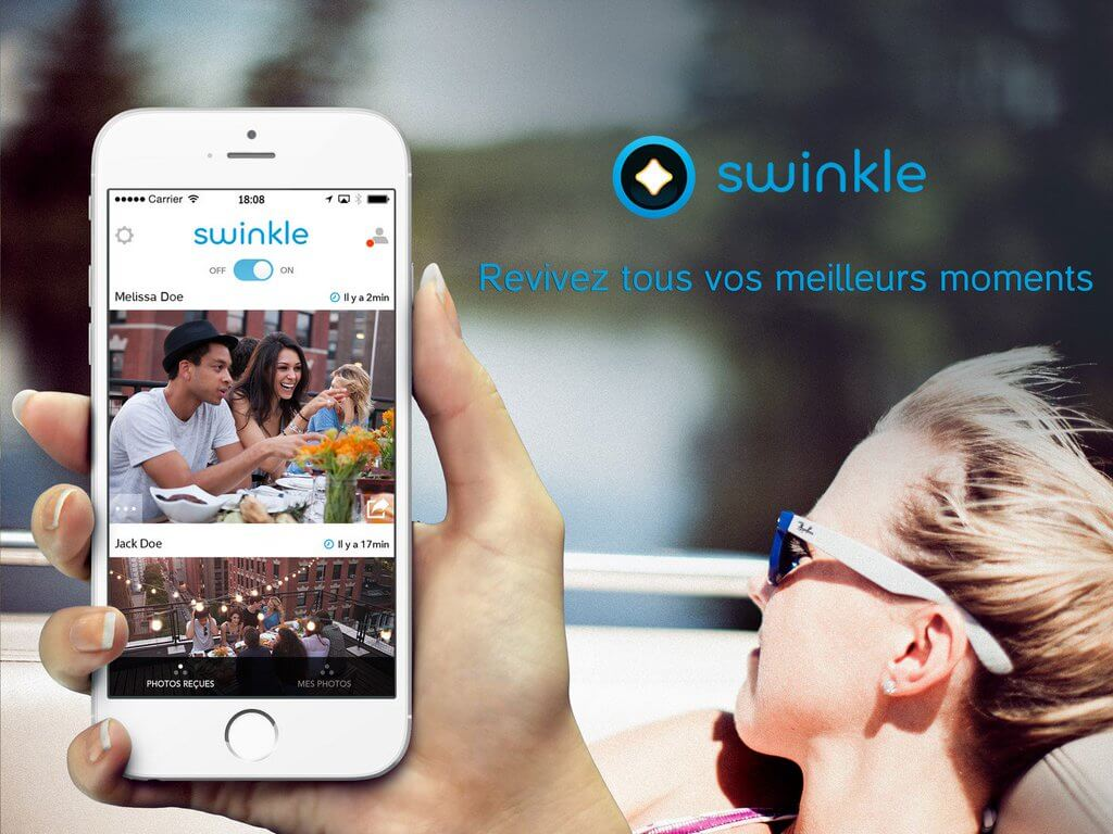 Swinkle, application, photo, start-up, projet, entrepreneuriat, étudiant-entrepreneur