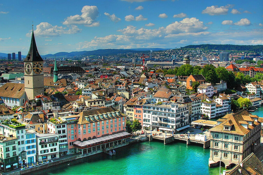 Zurich guide ultime destinations monde villes travail emploi jeunes voyage