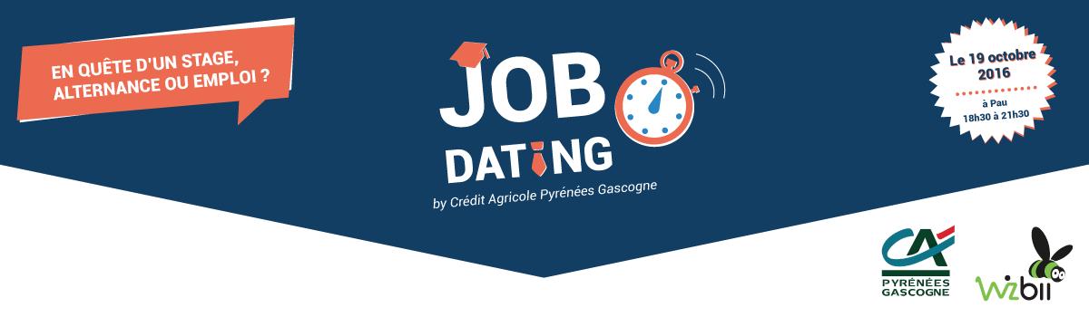 recrutement, jobdating, Crédit Agricol Mutuel Pyrénées Gascogne, Pau, Auch, recherche d'emploi, CDI, stage, alternance