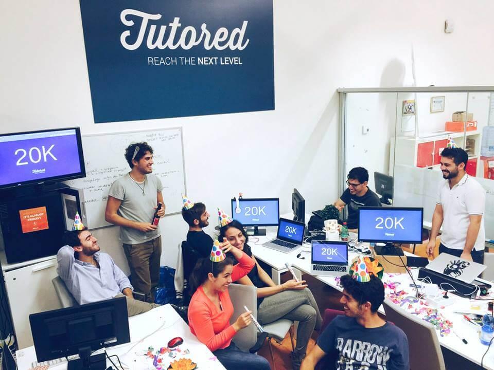 tutored, startup, innovazione, scuola, ripetizioni, esami, studenti, professori, università, studi, team, incubatore, crowd funding
