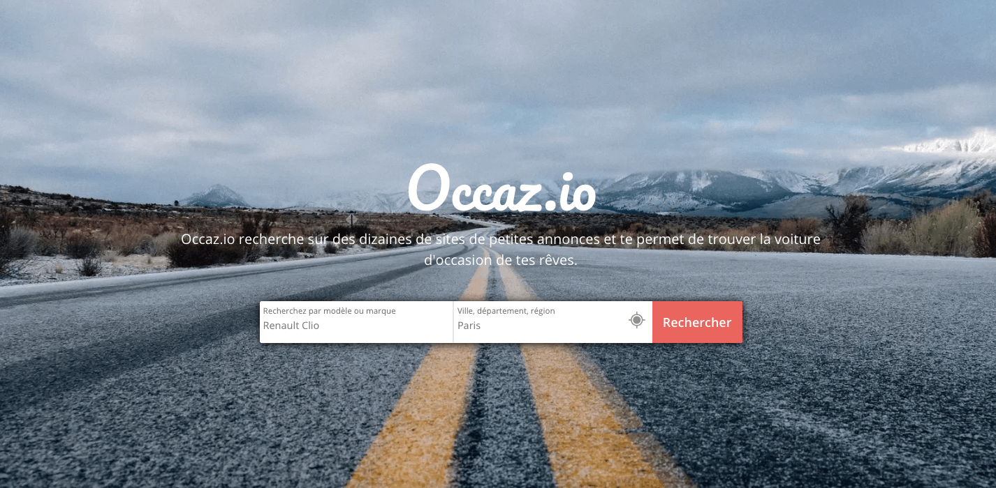 Occaz.io le comparateur de voitures d'occasion