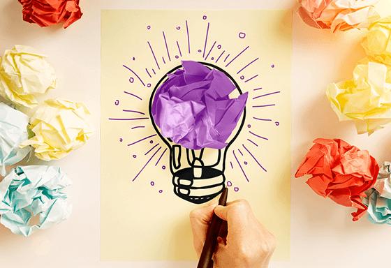 Tu peux montrer ta créativité aux recruteurs en l'ajoutant sur ton profil Wizbii !