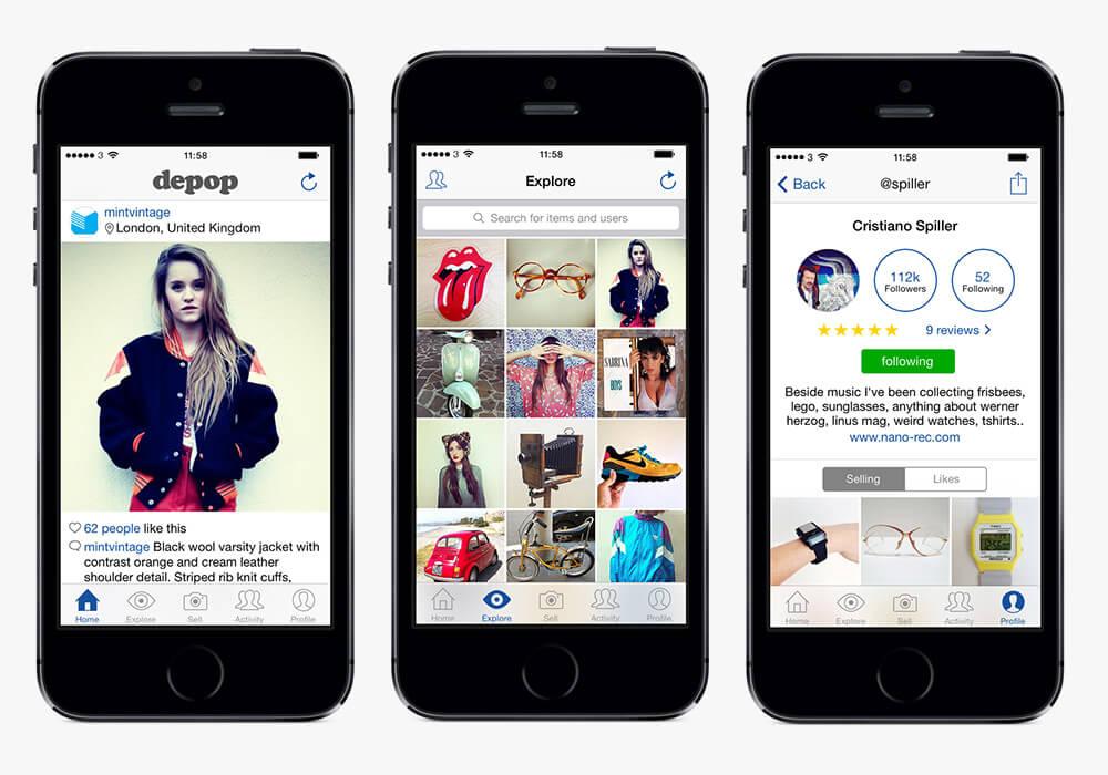 depop app 3