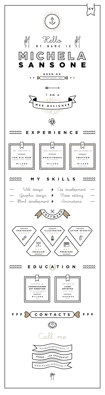 Webdesigner, Creative Cv, Cv, Cv Templates, Free Cv Template, Infographic Cv