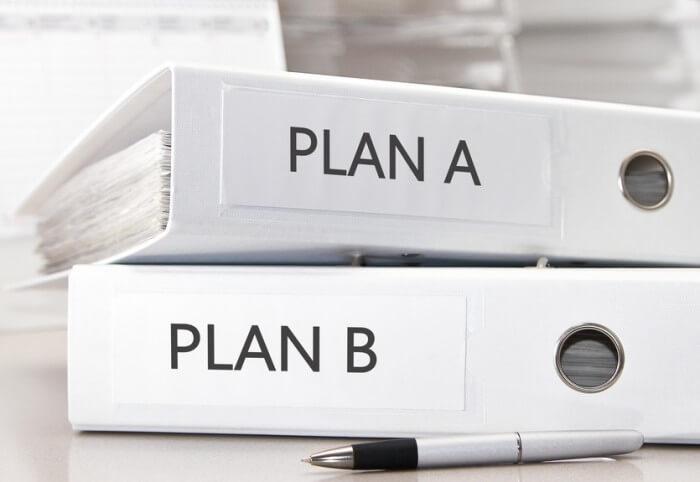 Plan A, Plan B reconversion carrière