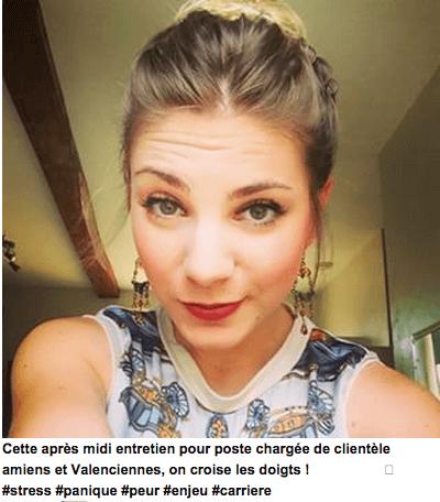 entretien d'embauche selfie