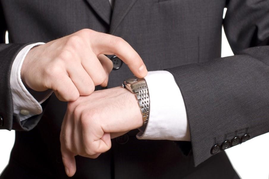 montrer une montre