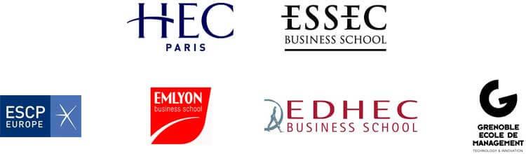 ecoles-de-commerce-logos