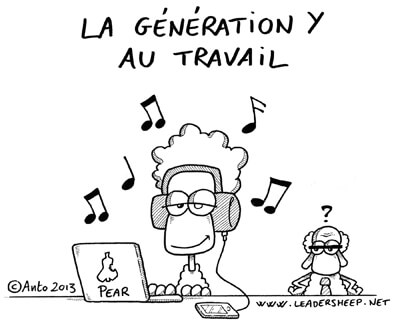 la generation-y au travail