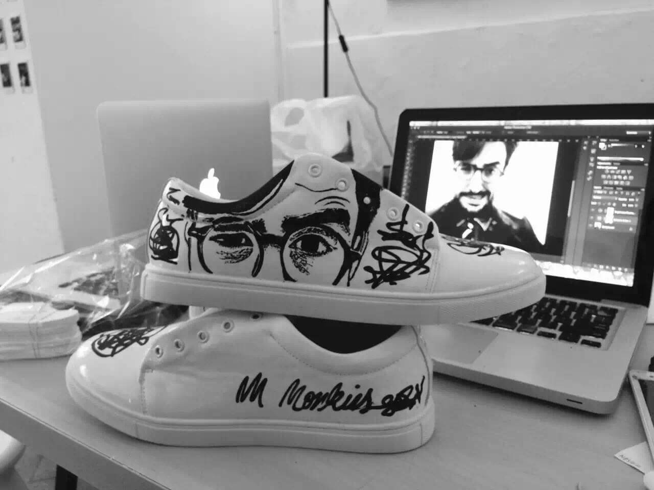Mr Monkies, start-up, entrepreneuriat, projet, baskets personnalisables